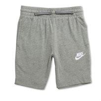Nike ילדים- מכנס קצר ג'רזי אפור
