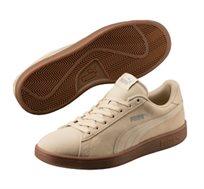 נעלי סניקרס לגבר PUMA SMAS V2 בצבע בז'
