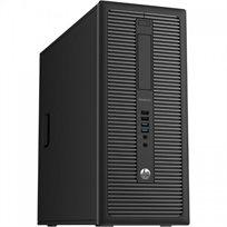"""מחשב נייח HP דגם EliteDesk 800 G1 מעבד i5 זיכרון 16GB אחסון 240GB SSD+2TB HDD מחודש +מסך 19"""" מתנה"""