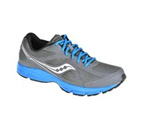 נעלי ריצה לגבר Saucony דגם GRID LEXICON 2 בצבע אפור כחול