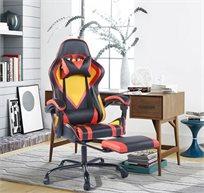 כיסא גיימינג מקצועי בעיצוב ארגונומי יוקרתי HOMAX דגם פרו-דרגון