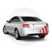 חיישני רוורס בגב הרכב עם תצוגת LED צבעונית וצג כולל התקנה ברשת מוטורולה בפריסה ארצית