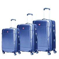 סט מזוודות קשיחות SWISS TRAVEL CLUB