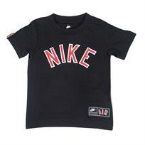 חולצה נייקי קצרה שחורה לפעוטות - NIKE AIR STRIPE TEE BLACK