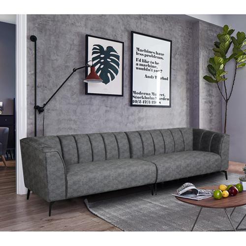 ספה רחבה 3 מ' מעוצבת עם קפיצים מבודדים ובד רחיץ דגם ורונה HOME DECOR - תמונה 5