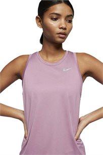 גופיית אימון Nike לנשים בצבע סגול לילך