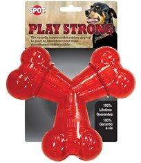 עצם גומי Y חזקה מאוד לכלב play strong אחריות לכל החיים