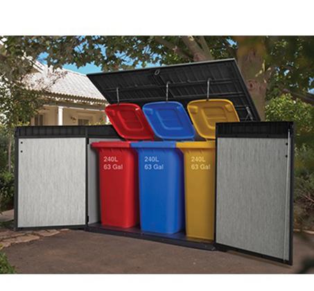 מחסן גינה בגודל בינוני מרווח ומתאים לאחסון של חפצים שונים דגם גרנדה KETER - תמונה 3