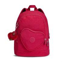 תיק גב לילדים HEART BACKPACK - True Pinkורוד עמוק