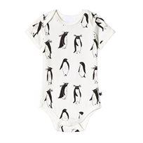 TOBIAS & THE BEAR בגד גוף קצר (2-0 שנים) - פינגווינים