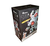 רובוט שלט סייבר ספארק - רובוט יורה דסקיות Spark toys