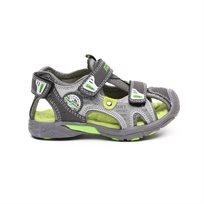 Magama Sandal Close - סנדל ילדים בצבע אפור ירוק