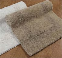 """שטיח אמבט זוהר 60X90 ס""""מ 100% כותנה במגוון צבעים לבחירה"""