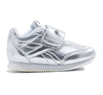 נעלי סניקרס לפעוטות Reebok Royal CLJog 2 KC - כסוף/לבן