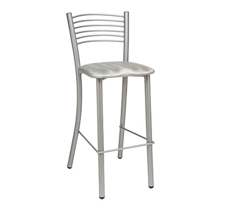 כסא בר גבוה למטבח בריפוד סקאי דגם רז במבחר גוונים לבחירה