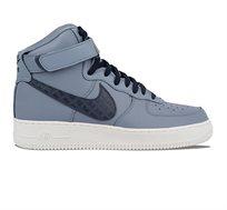 נעלי סניקרס לגבר נייקי 806403-404 AIR FORCE 1HIGE '07 LV8 - תכלת