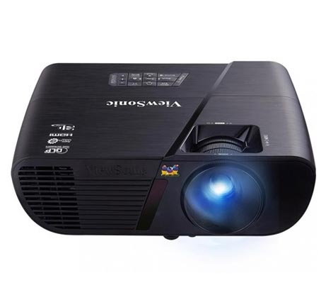 מקרן קולנוע HD בעל ניגודיות גבוהה וחיבור HDMI דגם ViewSonic PJD5255 - משלוח חינם - תמונה 2