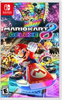 Mario Kart 8 Deluxe Nintendo Switch נינטנדו סוויץ' מריו קרט