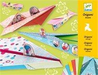 יצירה-אוריגמי מטוסים צהוב - DJECO