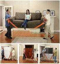 עוברים דירה? זוג רצועות חזקות להרמת רהיטים כבדים בקלות, בבטיחות וביעילות