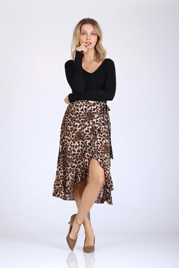 חצאית מעטפת טיגריס