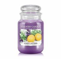 נר ריחני בצנצנת בניחוח Lemon Lavender