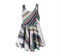 שמלת פפיון - פסים וינטג'