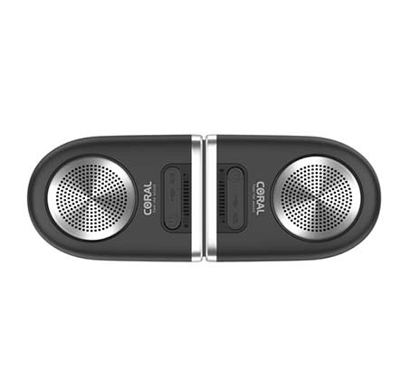 רמקולים Coral Tango Bluetooth Speakers Black