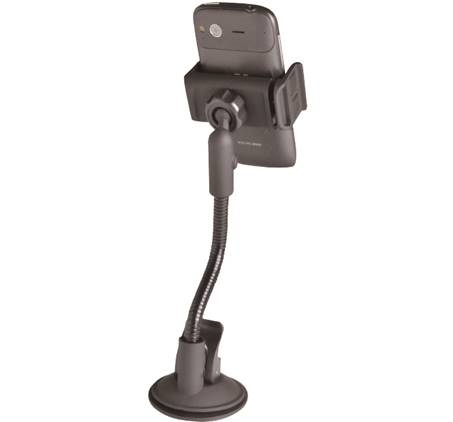 זרוע ואקום אוניברסאלית לרכב חזקה לכל סוגי הטלפונים - תמונה 2