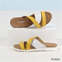 דגם רוברטה: כפכפים בצבע צהוב