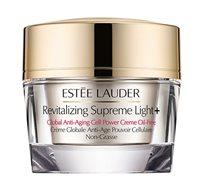 REV SUPREME PLUS LIGHT קרם לחות קליל Estee Lauder + תיק איפור עם מוצרי איפור בגודל מיוחד מתנה