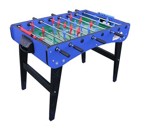 שולחן כדורגל מקצועי עם 10 כדורי משחק תוצרת איטליה דגם FAMILY  - תמונה 2