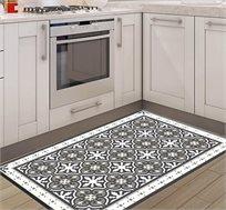 שטיח מעוצב דגם ורונה אפור בגדלים לבחירה