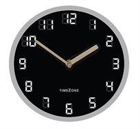 שעון קיר זכוכית מראה דיגיטלי