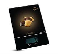 """משקל מטבח דיגיטלי מעוצב עד 5 ק""""ג FOOD APPEAL דגם Madeleines מסדרת Dolce Italiana"""