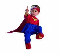 תחפושת לתינוקות בייבי וונדרוומן Baby Wonder-Woman
