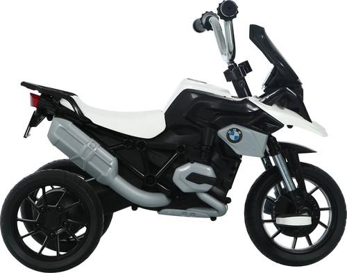 תלת אופן BMW R1200 GS עם גלגלי EVA ופדלים - לבן - משלוח חינם - תמונה 3