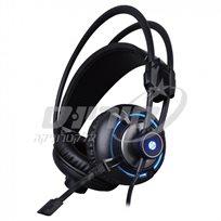אוזניות גיימינג HP דגם HP-H300