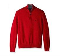 סוודר נאוטיקה לגבר דגם S831046NR - אדום