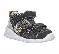 נעלי צעד ראשון Papaya ספורטיפיי כוכב לבנים בצבע שחור