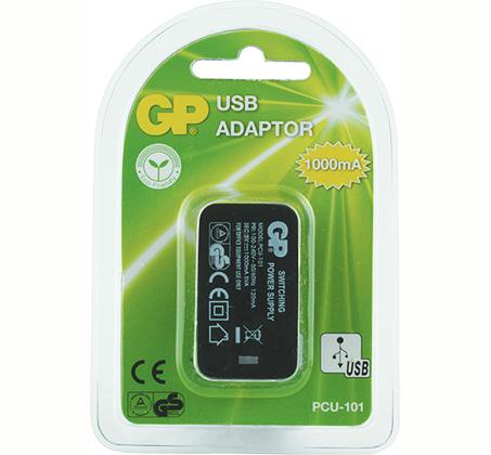מטען קיר USB מבית GP בעוצמת 1000mAH  - תמונה 2