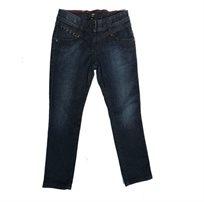 ג'ינס BOSS לילדות (מידות 16-4 שנים) כחול כהה