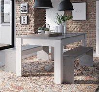 פינת אוכל כוללת שולחן וזוג ספסלים HOME DECOR דגם FLORIDA