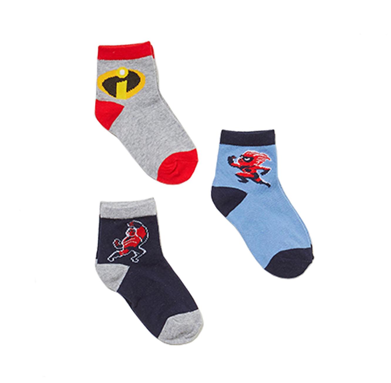 מארז 3 זוגות גרביים OVS לילדים - הדפסי גיבורי על