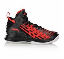 נעלי כדורסל מקצועיות לגברים Li Ning Dominator On Court בצבעי אדום/שחור