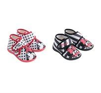 2 זוגות נעלי בית סקוטש לילדות במגוון דגמים אהובים לבחירה דיסני
