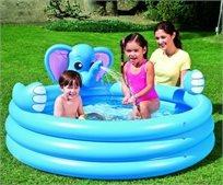 בריכה מתנפחת לילדים עם מזרקה - פיל דגם 53048