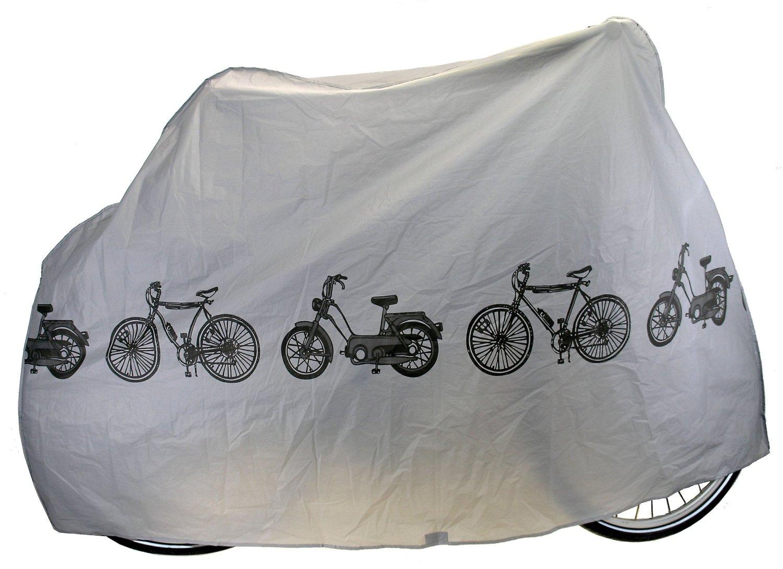 זוג כיסוי חיצוני לדו גלגלי מתאים לרוב סוגי האופניים והקטנועים מגן מפני גשם, לכלוך, אבק ושריטות - תמונה 2