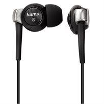 אוזניות סיליקון סטריאופוניות in-ear אידיאליות לנגני MP3 מבית HAMA גרמניה