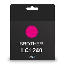 על איכות לא מתפשרים! ראש דיו תואם BROTHER LC1240 צבע אדום, דיו איכותי למדפסת